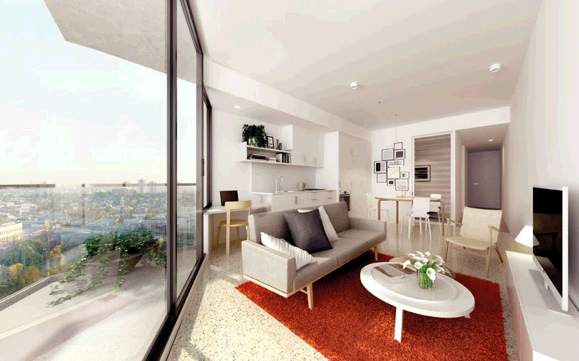 SEE apartments  Can inner city apartments save us from sprawl    The Melbourne  . Average Studio Apartment. Home Design Ideas
