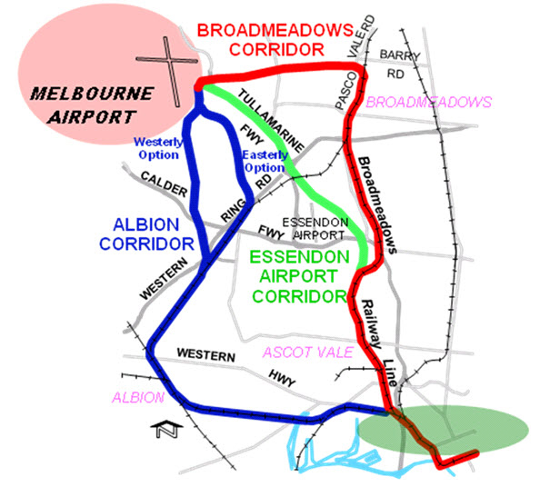 melbourne airport to albury wodonga map - photo#16